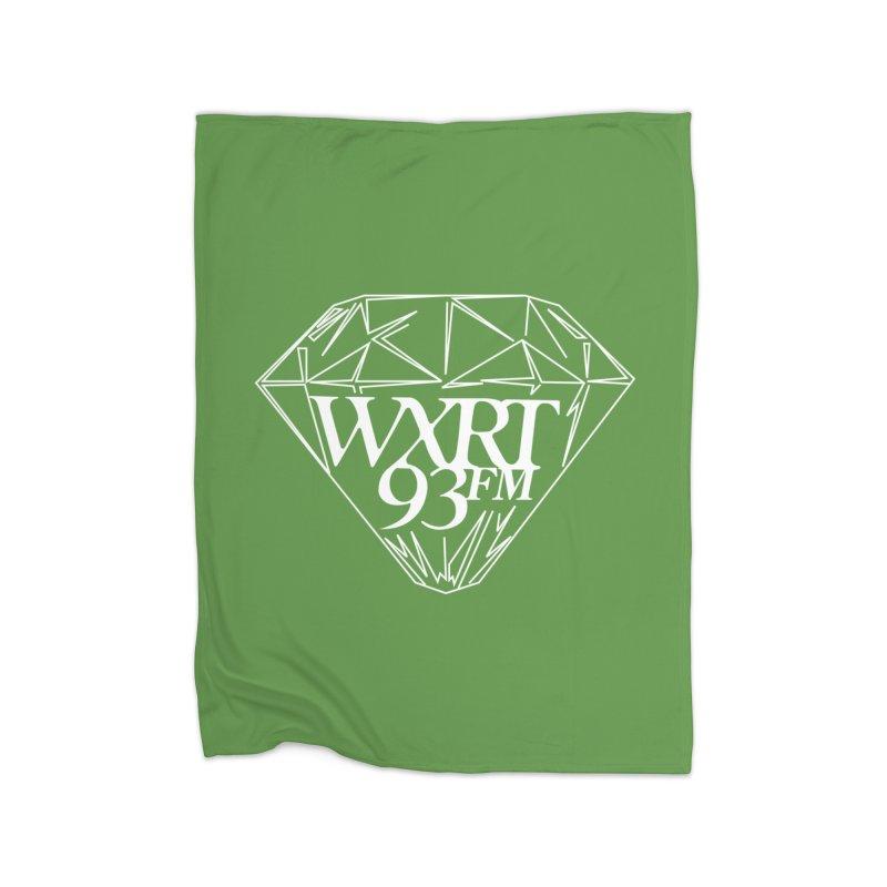 XRT Classic Diamond Tee Home Fleece Blanket Blanket by 93XRT