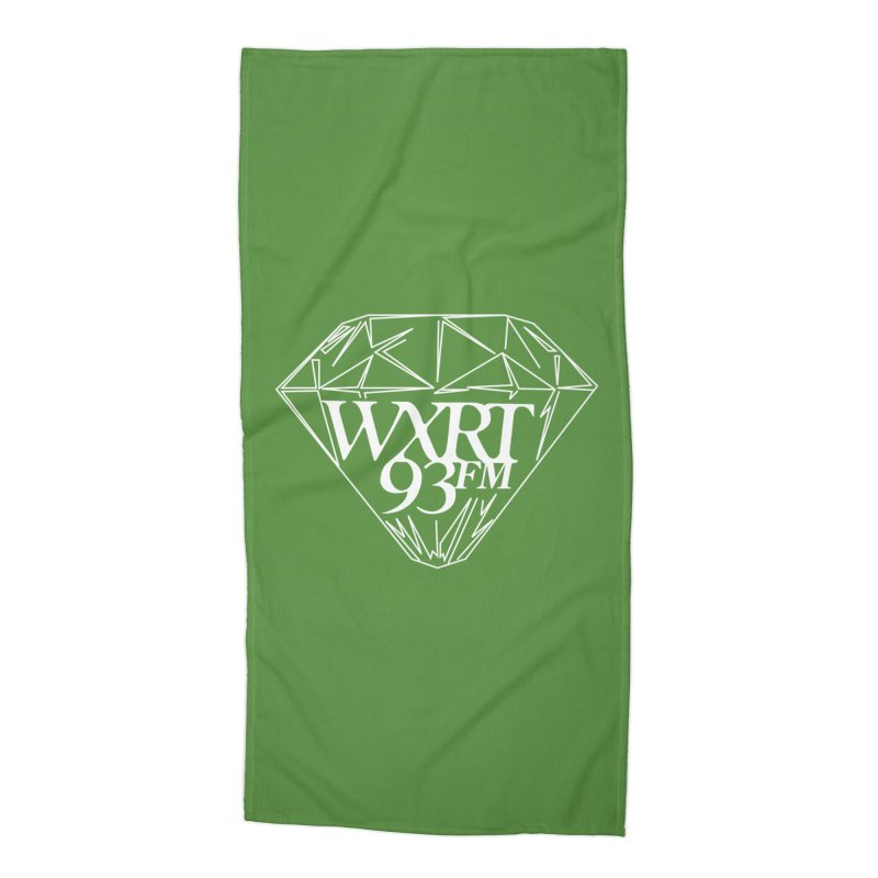 XRT Classic Diamond Tee Accessories Beach Towel by 93XRT