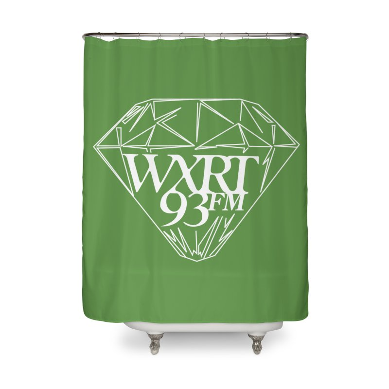 XRT Classic Diamond Tee Home Shower Curtain by 93XRT