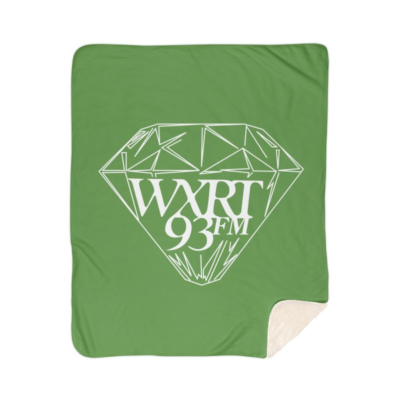 XRT Classic Diamond Tee Home Sherpa Blanket Blanket by 93XRT