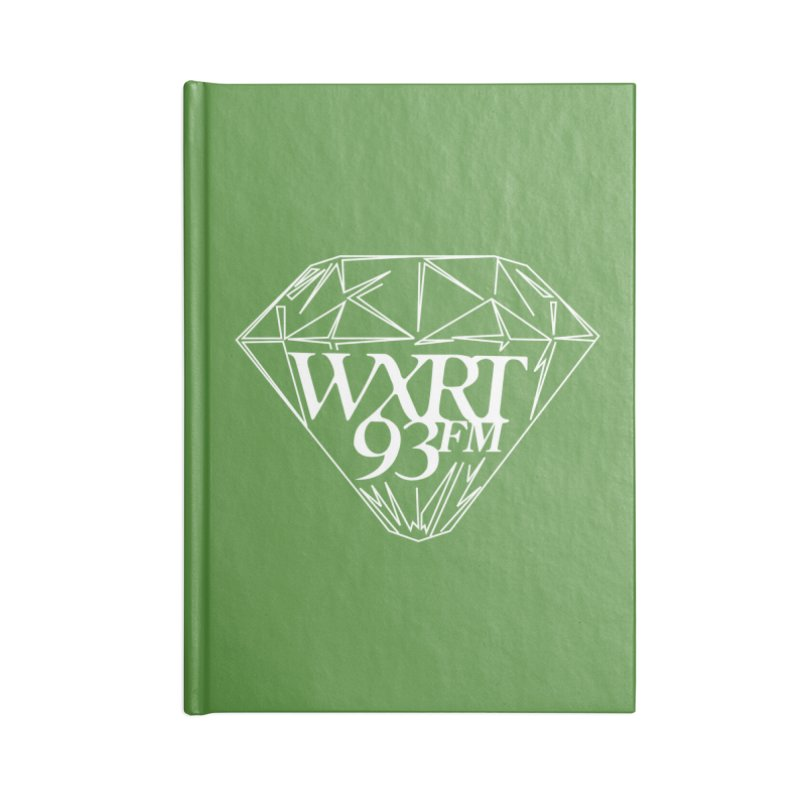 XRT Classic Diamond Tee Accessories Lined Journal Notebook by 93XRT