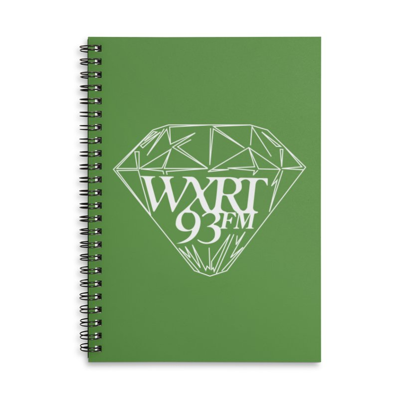 XRT Classic Diamond Tee Accessories Lined Spiral Notebook by 93XRT