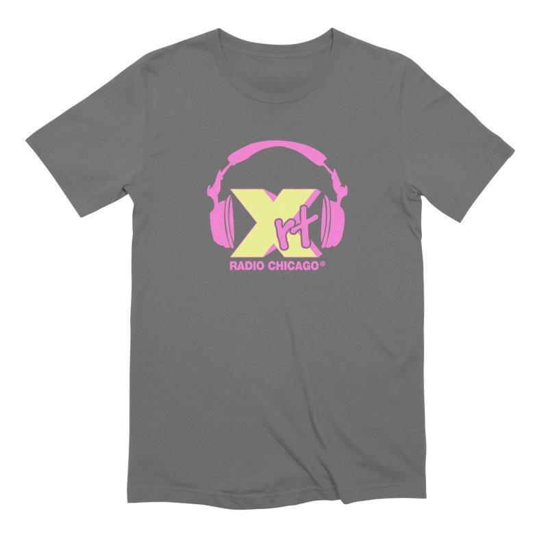 XRT 80s Headphone Men's T-Shirt by 93XRT