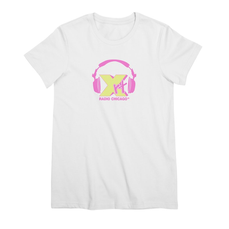XRT 80s Headphone Women's Premium T-Shirt by 93XRT
