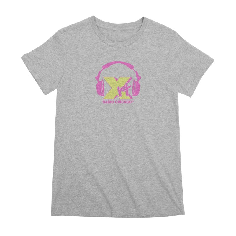XRT 80s Headphone Women's Premium T-Shirt by 93XRT