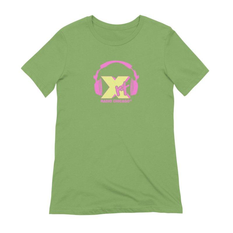 XRT 80s Headphone Women's Extra Soft T-Shirt by 93XRT