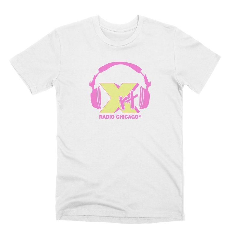XRT 80s Headphone Men's Premium T-Shirt by 93XRT
