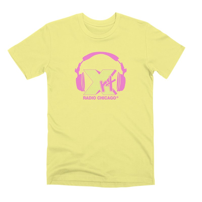 XRT 80s Headphone Men's Premium T-Shirt by 93XRT