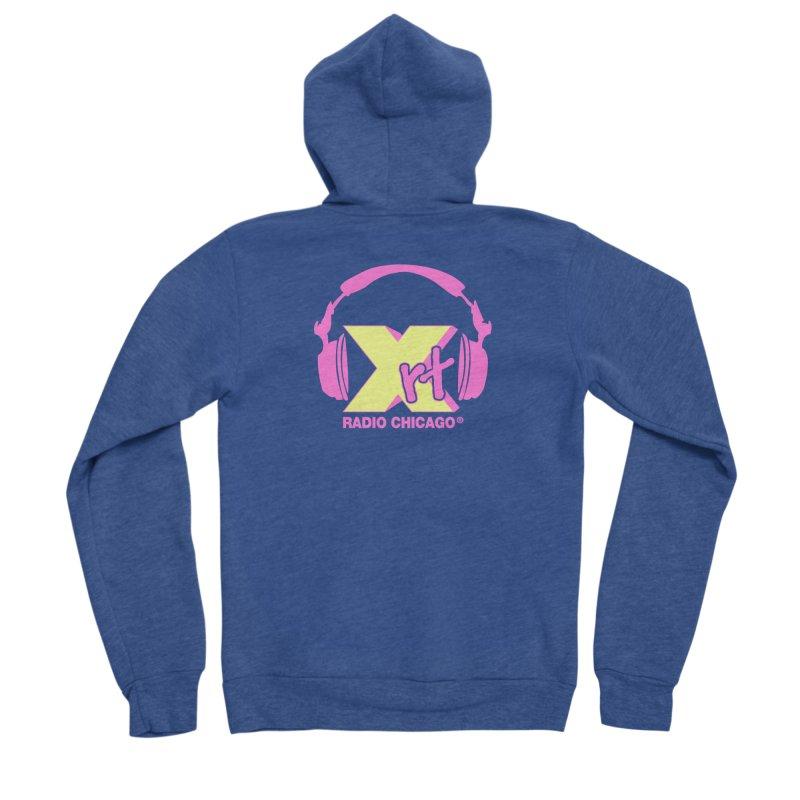XRT 80s Headphone Men's Sponge Fleece Zip-Up Hoody by 93XRT