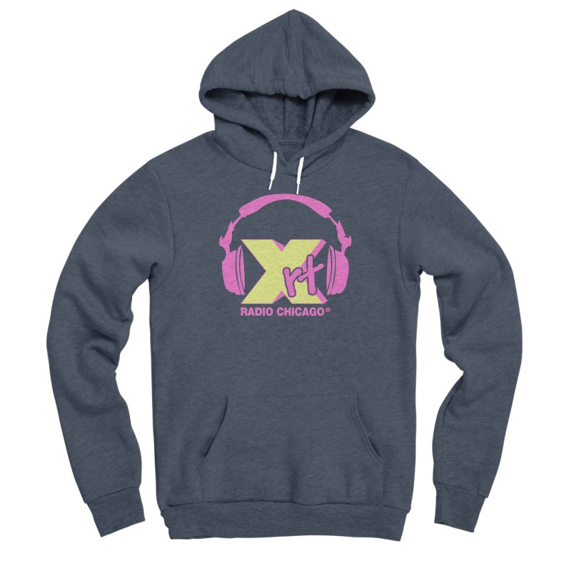 XRT 80s Headphone Women's Sponge Fleece Pullover Hoody by 93XRT