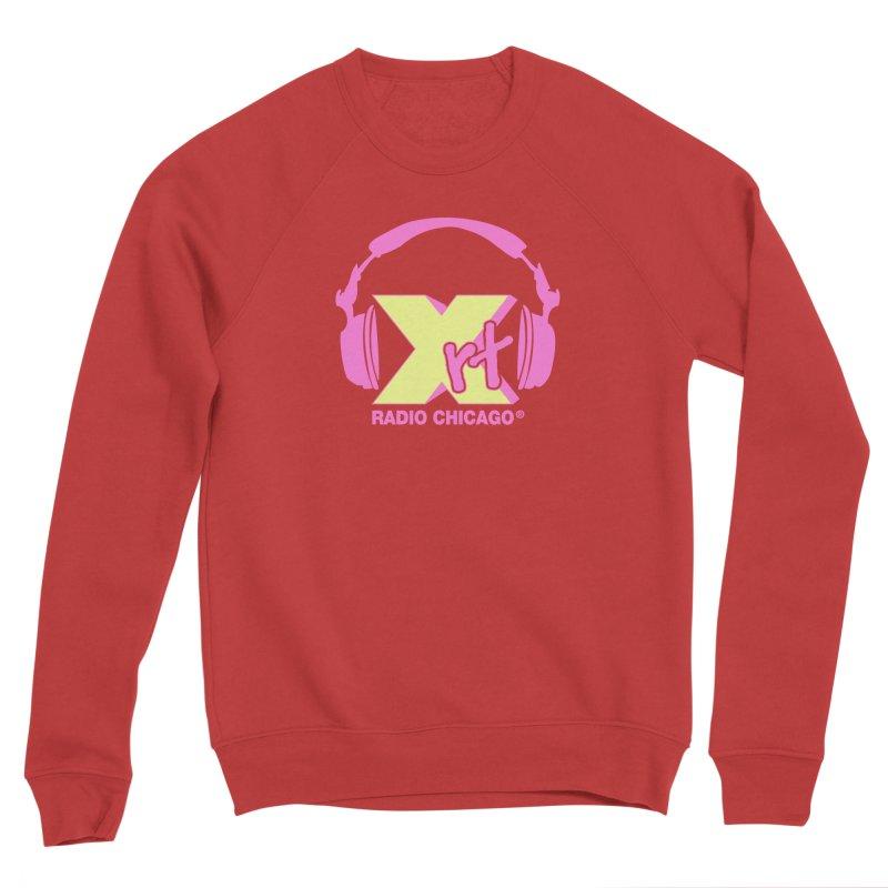 XRT 80s Headphone Women's Sponge Fleece Sweatshirt by 93XRT