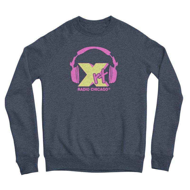XRT 80s Headphone Men's Sponge Fleece Sweatshirt by 93XRT