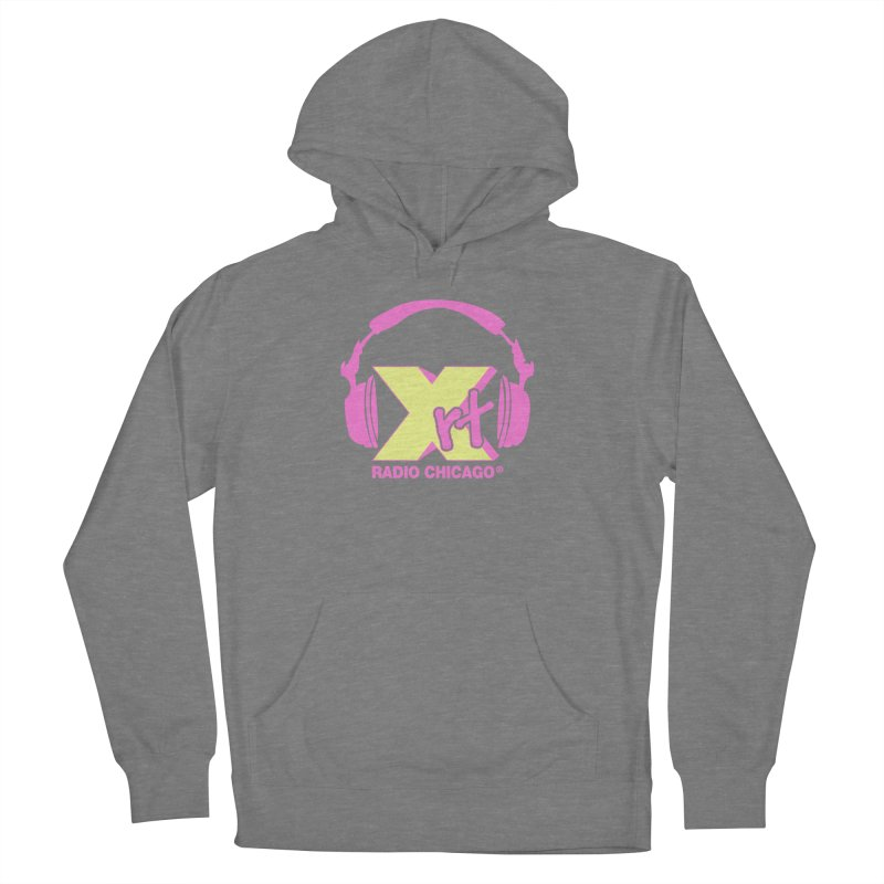 XRT 80s Headphone Women's French Terry Pullover Hoody by 93XRT