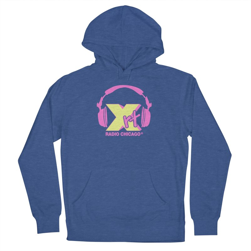 XRT 80s Headphone Men's French Terry Pullover Hoody by 93XRT