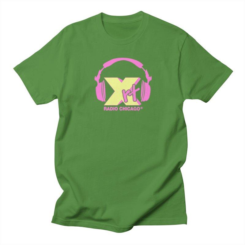 XRT 80s Headphone Men's T-Shirt by WXRT's Artist Shop