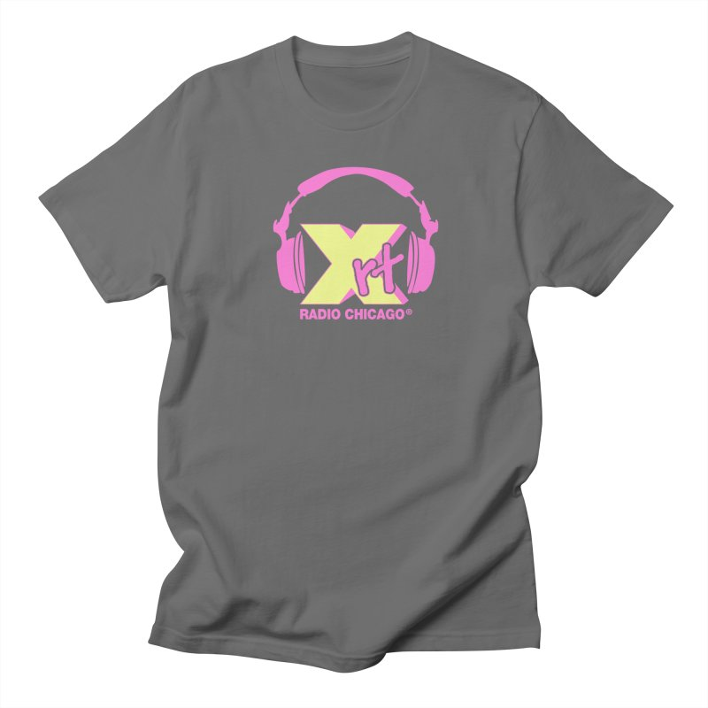 XRT 80s Headphone Women's Regular Unisex T-Shirt by WXRT's Artist Shop