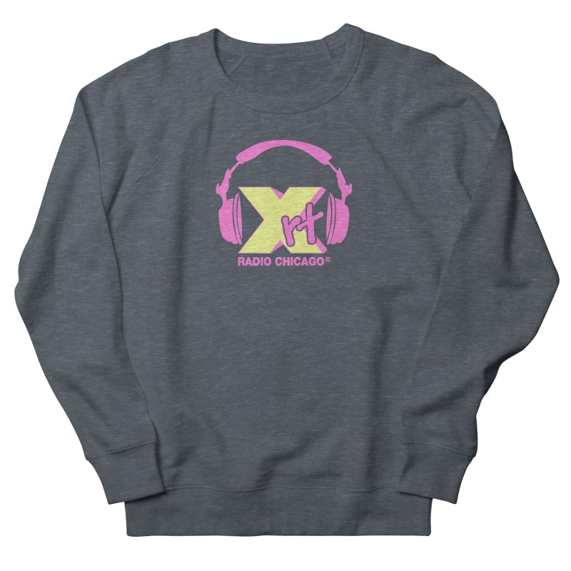 XRT 80s Headphone Women's French Terry Sweatshirt by WXRT's Artist Shop
