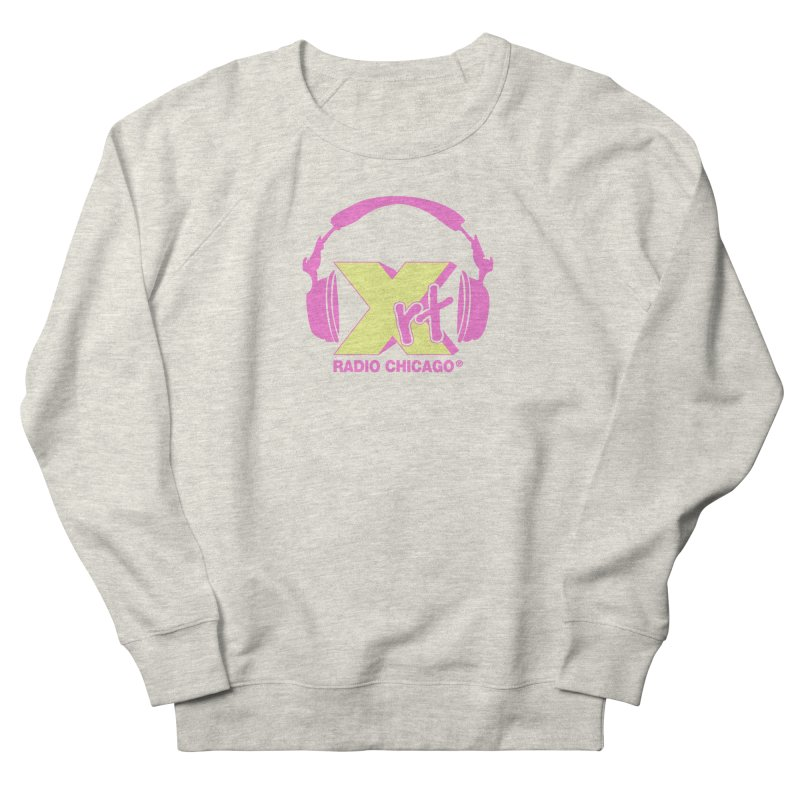 XRT 80s Headphone Men's French Terry Sweatshirt by 93XRT