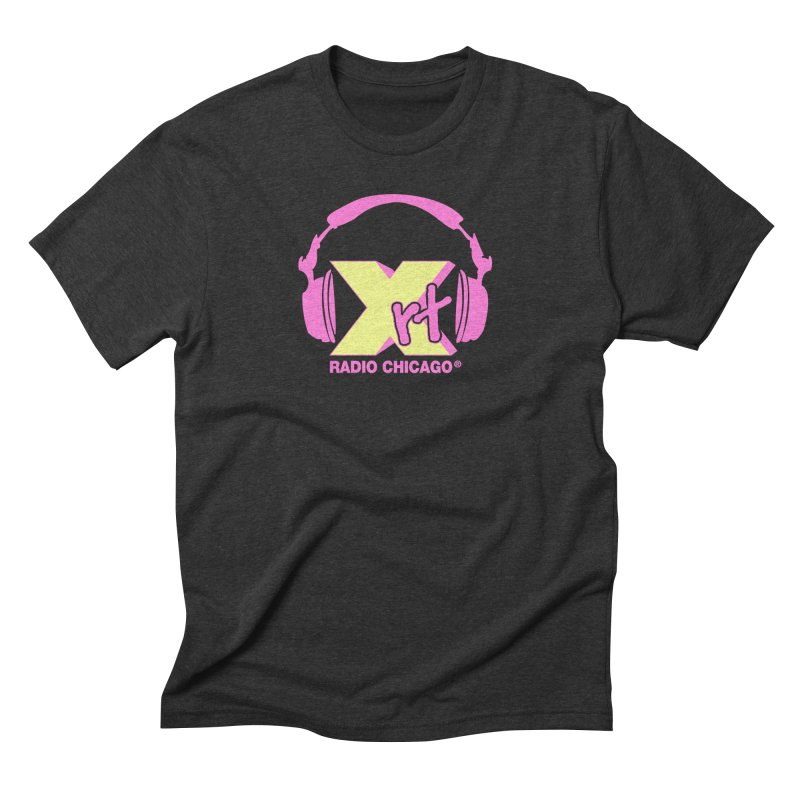 XRT 80s Headphone Men's Triblend T-Shirt by WXRT's Artist Shop