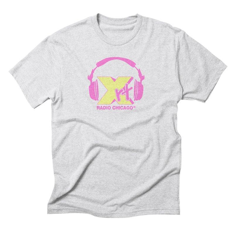XRT 80s Headphone Men's Triblend T-shirt by WXRT's Artist Shop