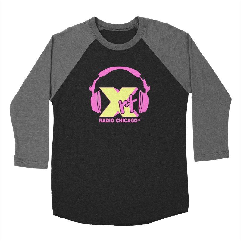 XRT 80s Headphone Women's Baseball Triblend Longsleeve T-Shirt by WXRT's Artist Shop