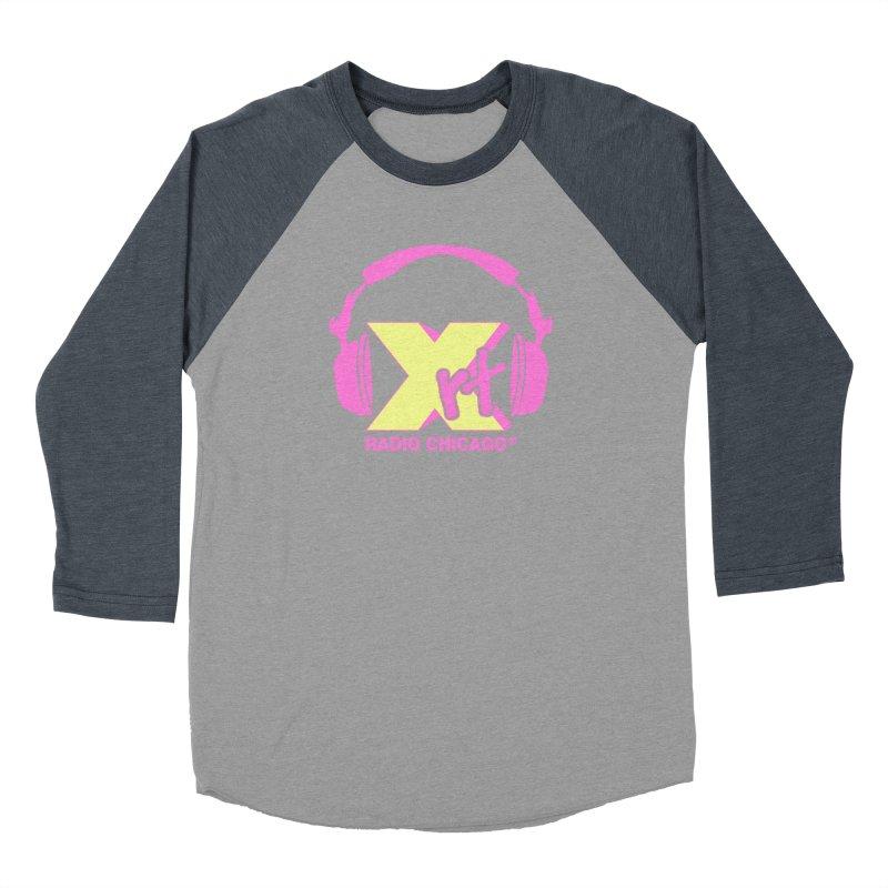XRT 80s Headphone Women's Baseball Triblend Longsleeve T-Shirt by 93XRT