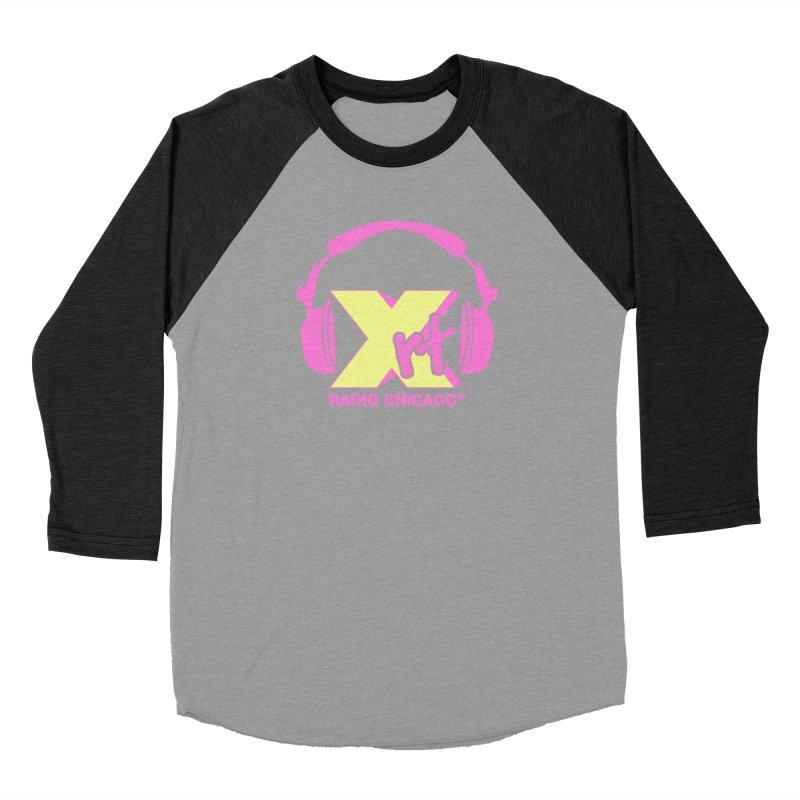 XRT 80s Headphone Men's Baseball Triblend T-Shirt by WXRT's Artist Shop