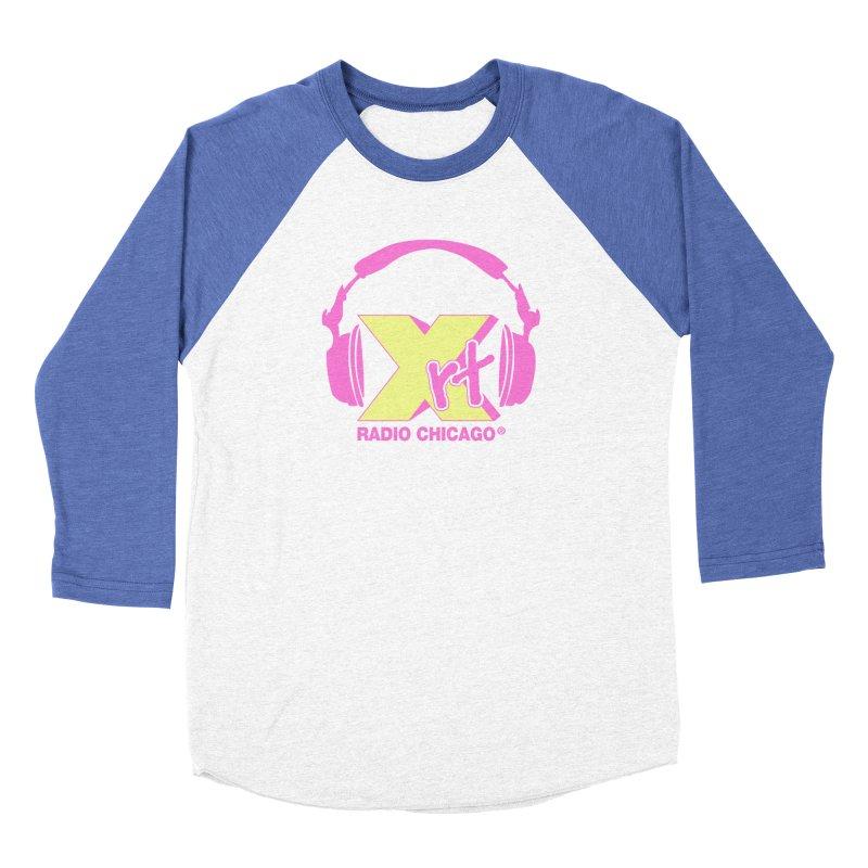 XRT 80s Headphone Men's Baseball Triblend Longsleeve T-Shirt by WXRT's Artist Shop