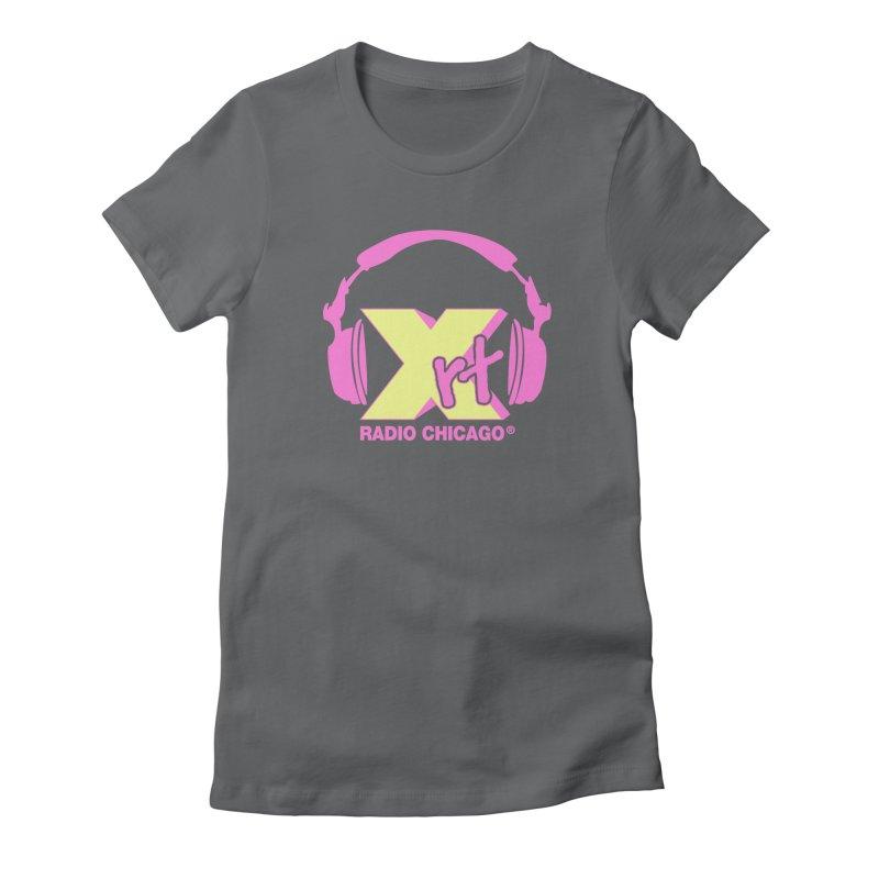 XRT 80s Headphone Women's T-Shirt by 93XRT