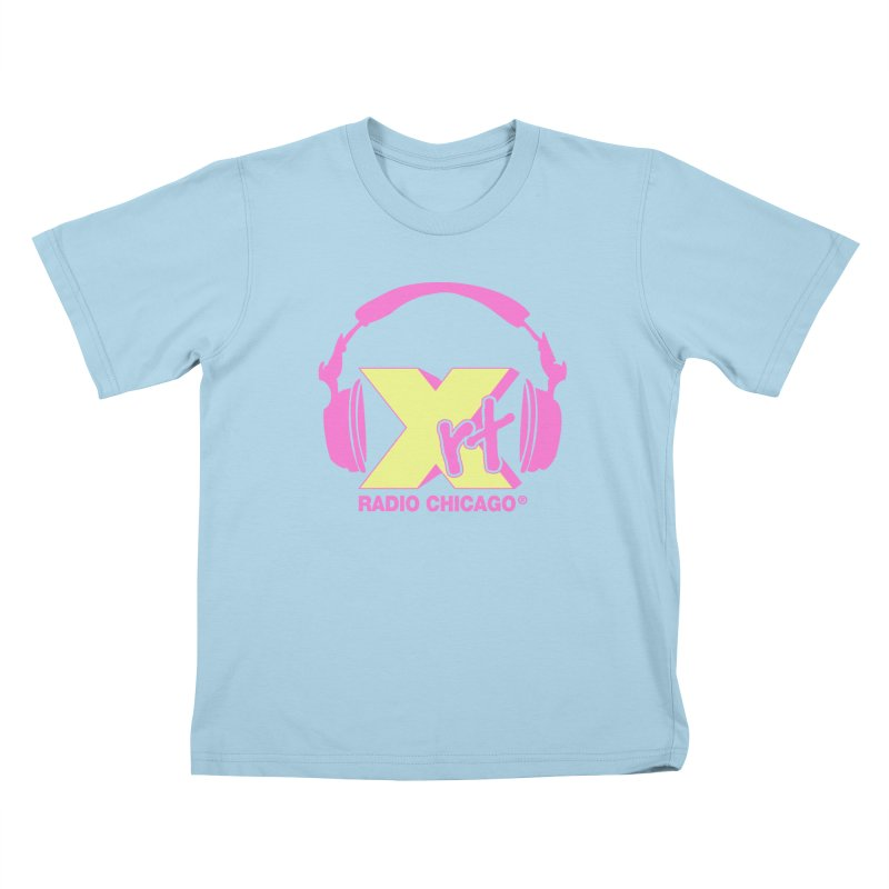 XRT 80s Headphone Kids T-Shirt by 93XRT