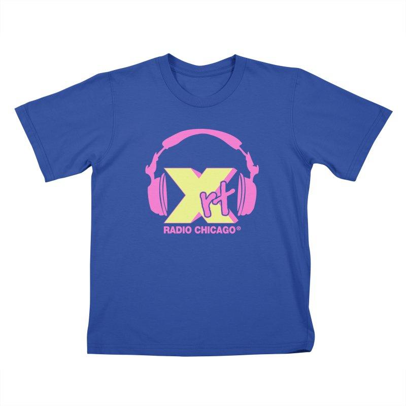 XRT 80s Headphone Kids T-Shirt by 93XRT