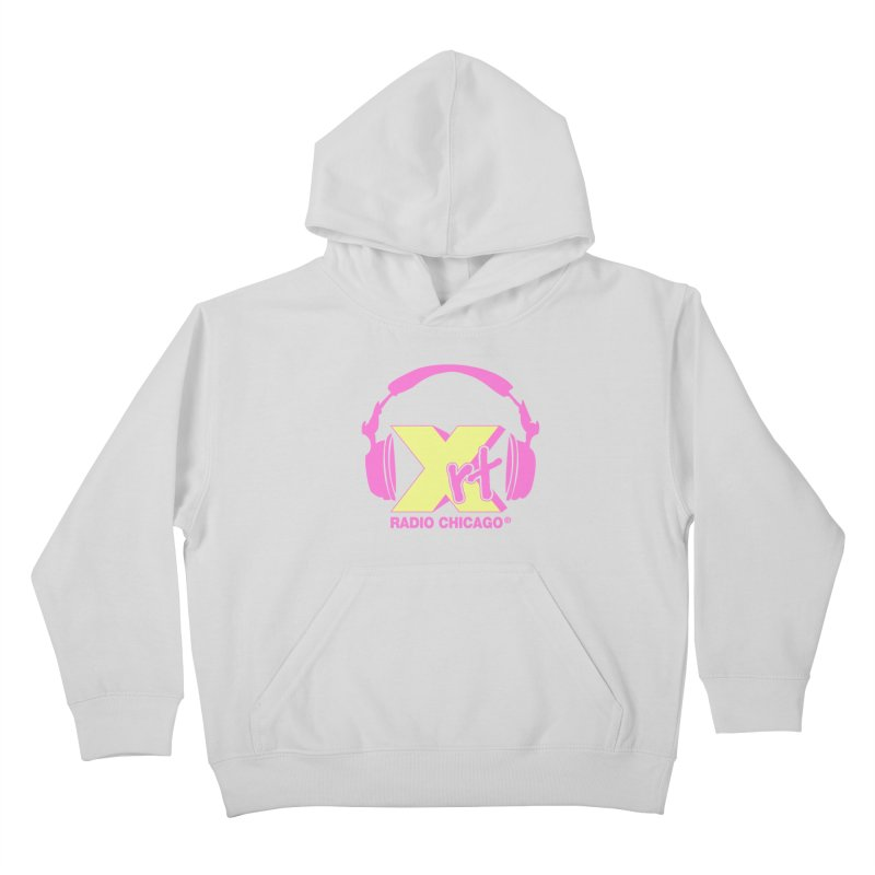 XRT 80s Headphone Kids Pullover Hoody by WXRT's Artist Shop