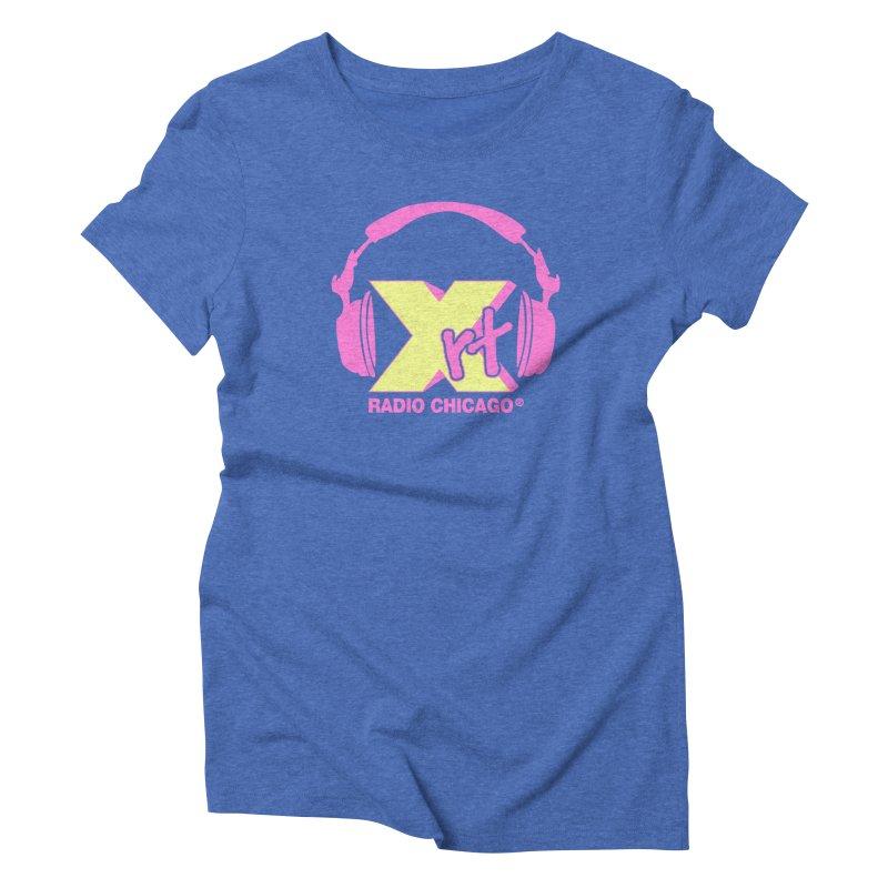 XRT 80s Headphone Women's Triblend T-shirt by WXRT's Artist Shop