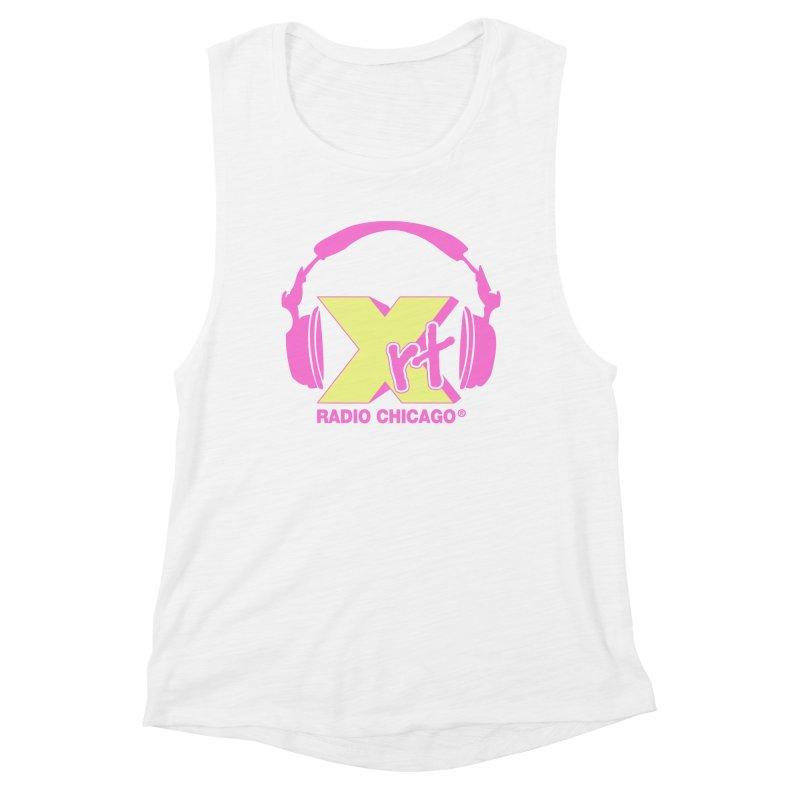 XRT 80s Headphone Women's Muscle Tank by 93XRT
