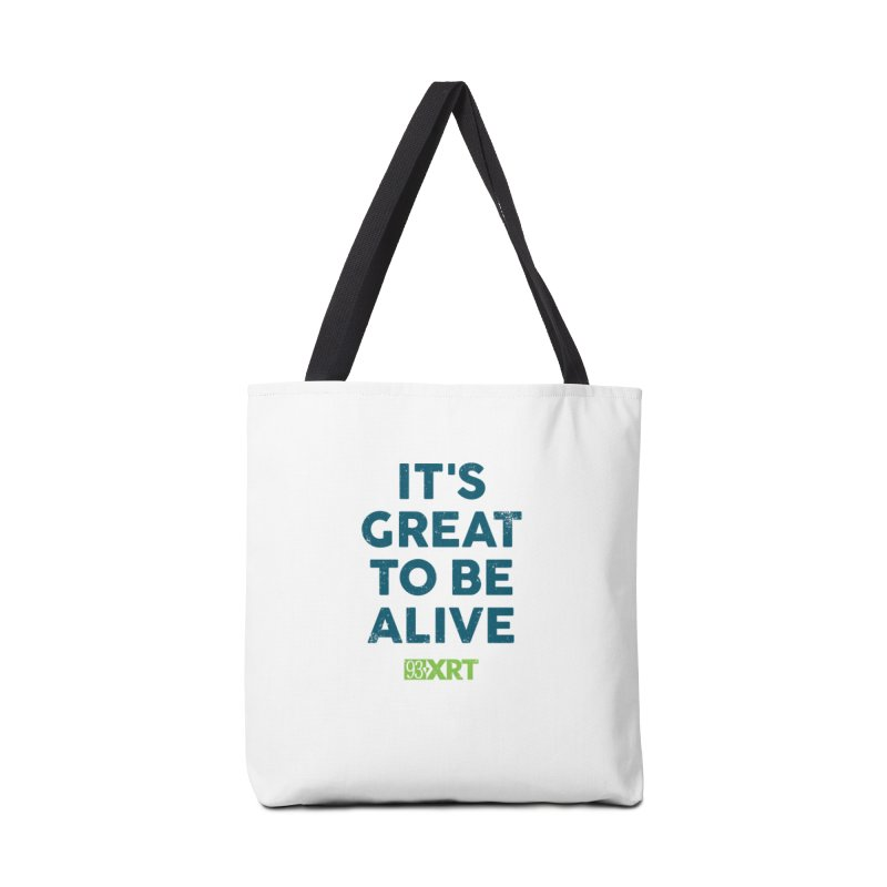 "Baby & Kids - ""It's Great To Be Alive"" Accessories Bag by WXRT's Artist Shop"