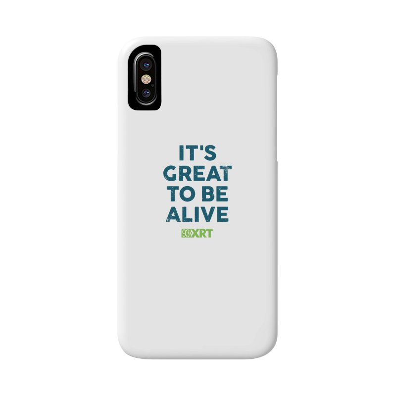 "Baby & Kids - ""It's Great To Be Alive"" Accessories Phone Case by WXRT's Artist Shop"