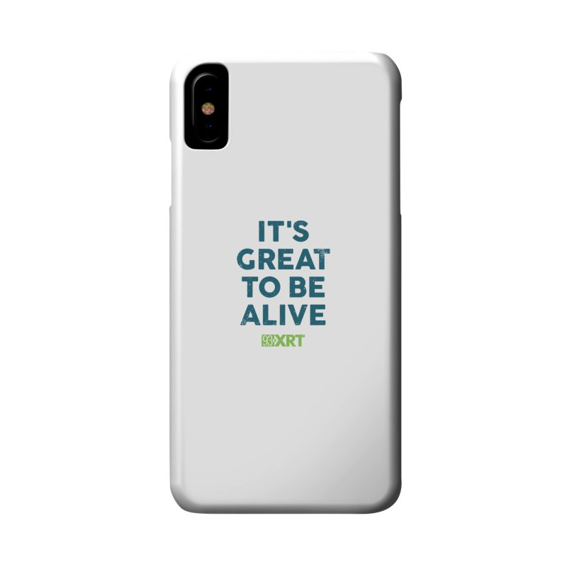 """""""It's Great To Be Alive"""" Accessories Phone Case by 93XRT"""