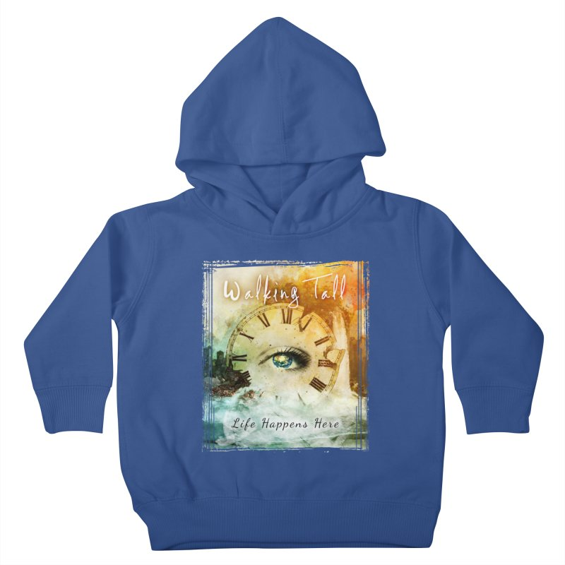 Walking Tall-Life Happens Here-black Kids Toddler Pullover Hoody by Walking Tall - Band Merch Shop