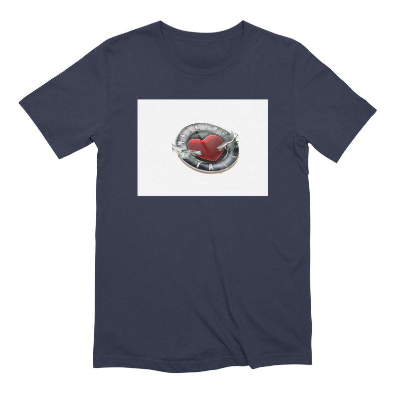 Walking Tall - 3d Men's Extra Soft T-Shirt by Walking Tall - Band Merch Shop