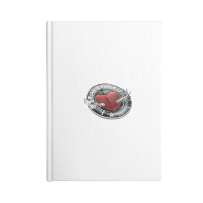 Walking Tall - 3d Accessories Lined Journal Notebook by Walking Tall - Band Merch Shop