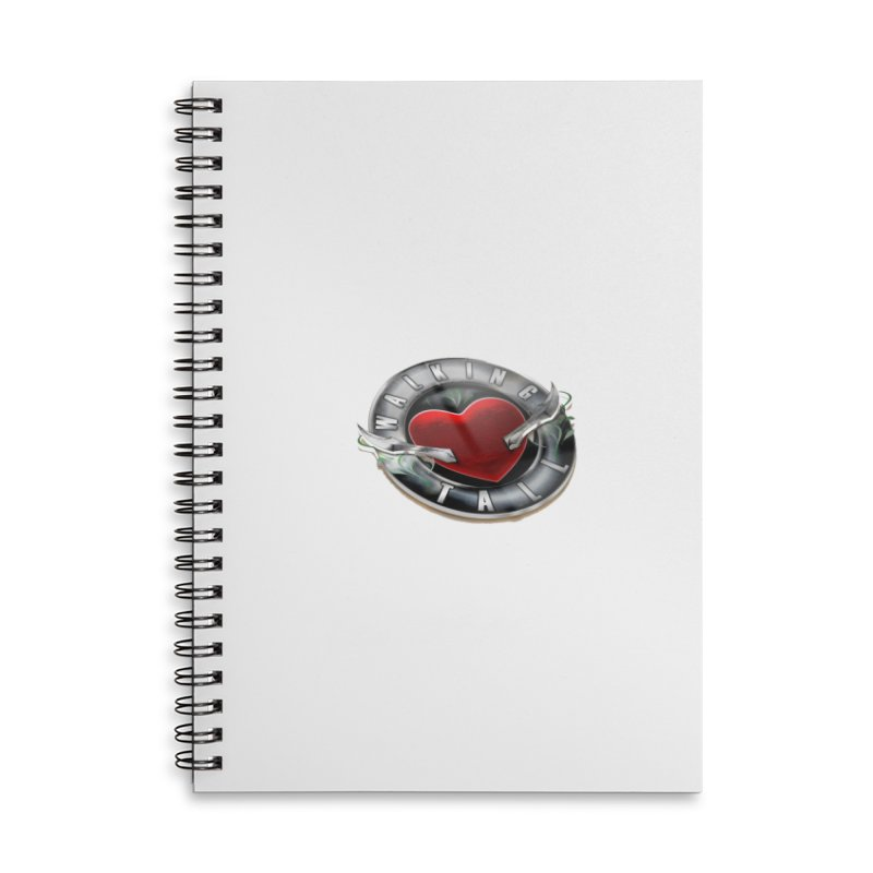 Walking Tall - 3d Accessories Lined Spiral Notebook by Walking Tall - Band Merch Shop