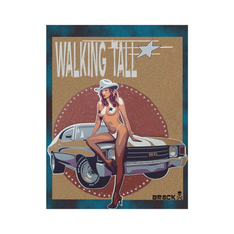 Walking Tall Volume I Home Mounted Aluminum Print by Walking Tall - Band Merch Shop