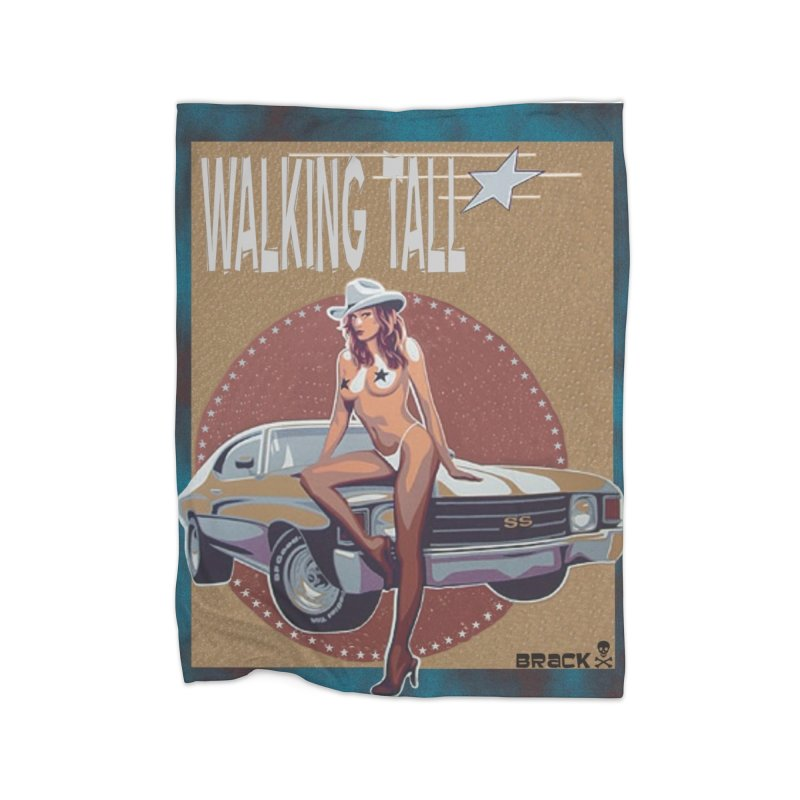 Walking Tall Volume I Home Fleece Blanket Blanket by Walking Tall - Band Merch Shop