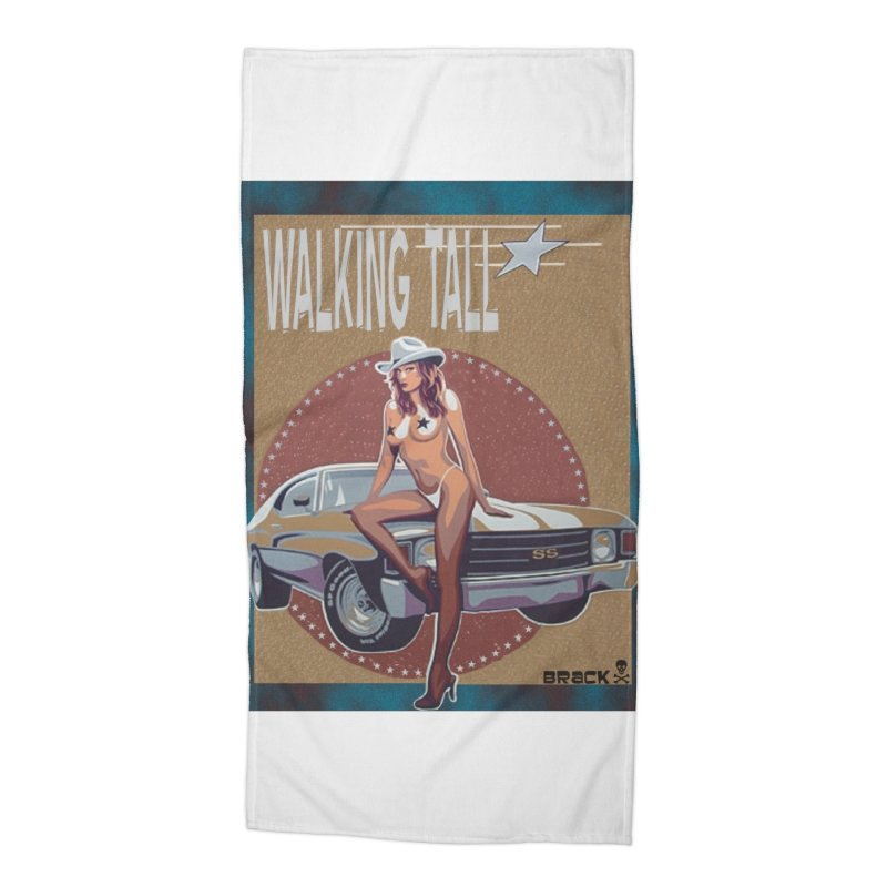 Walking Tall Volume I Accessories Beach Towel by Walking Tall - Band Merch Shop
