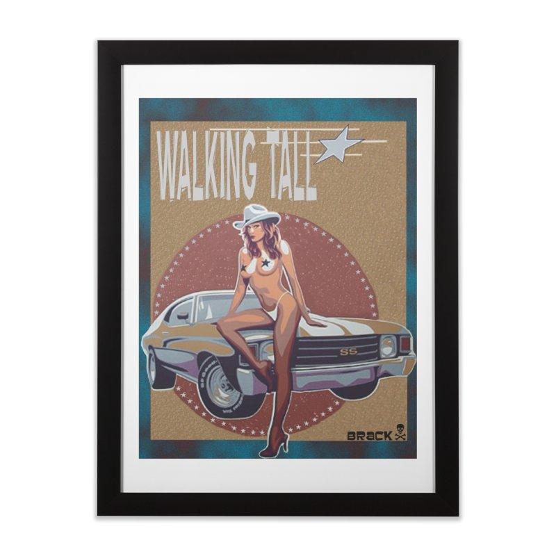 Walking Tall Volume I Home Framed Fine Art Print by Walking Tall - Band Merch Shop