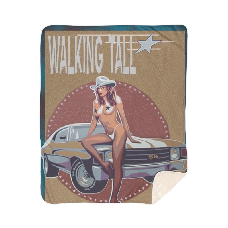 Walking Tall Volume I Home Sherpa Blanket Blanket by Walking Tall - Band Merch Shop