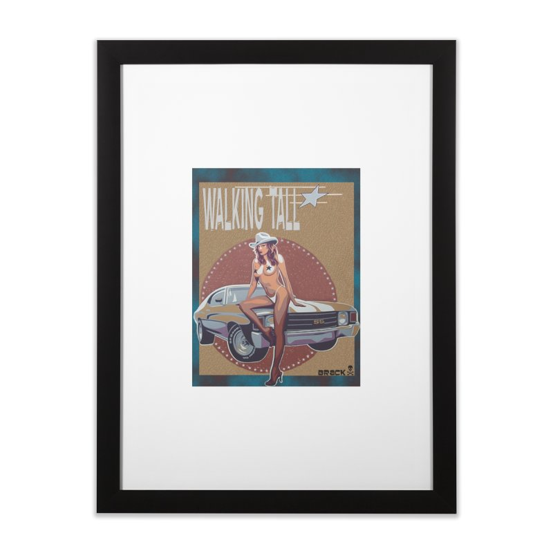 Walking Tall Volume I Home Framed Fine Art Print by Walking Tall - Band Merch Shop
