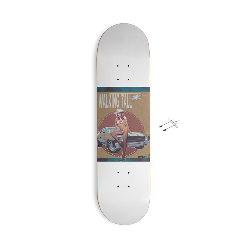 Walking Tall Volume I Accessories With Hanging Hardware Skateboard by Walking Tall - Band Merch Shop