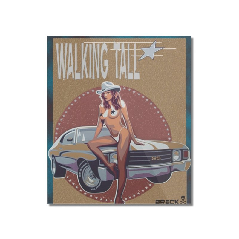 Walking Tall Volume I Home Mounted Acrylic Print by Walking Tall - Band Merch Shop