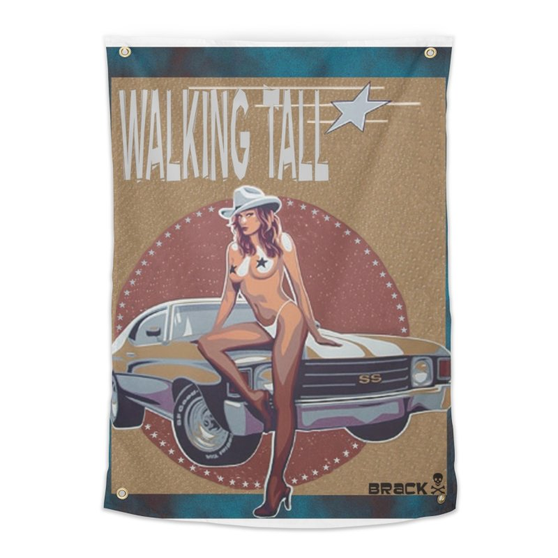 Walking Tall Volume I Home Tapestry by Walking Tall - Band Merch Shop